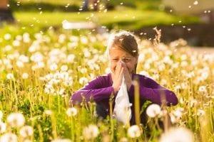 Alergias primaverales infantiles