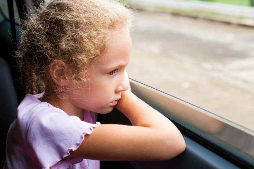 nena con ansiedad