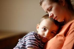nene con ansiedad