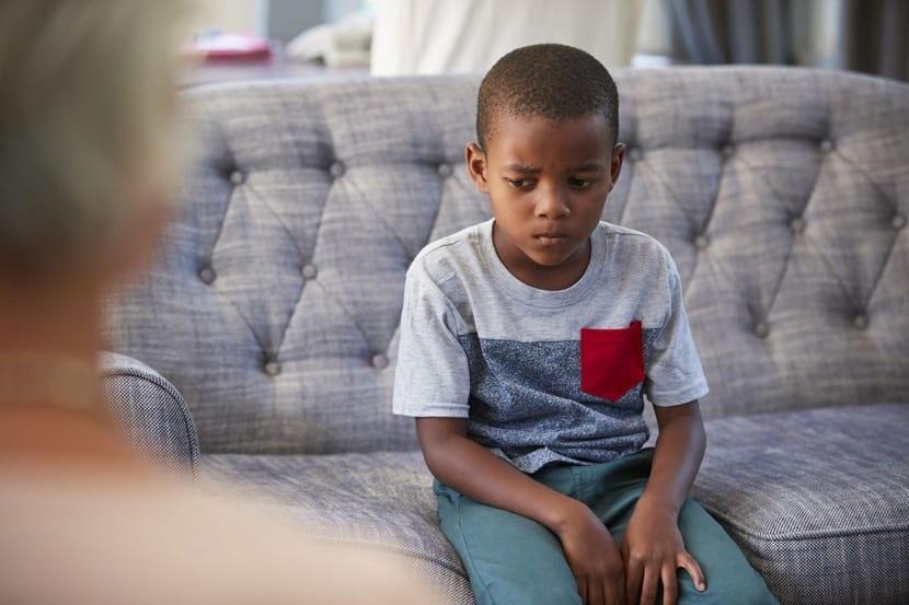 nene con estres y ansiedad