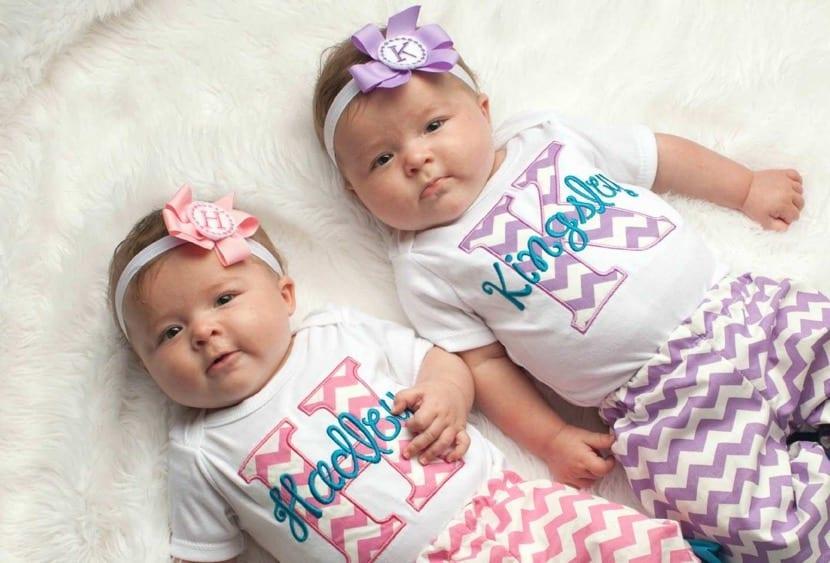 preciosas bebes mellizas