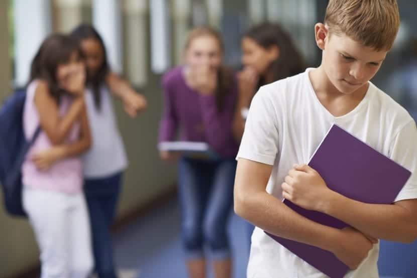 acoso escolar en el centro educativo