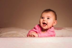 Las primeras sonrisas del bebé