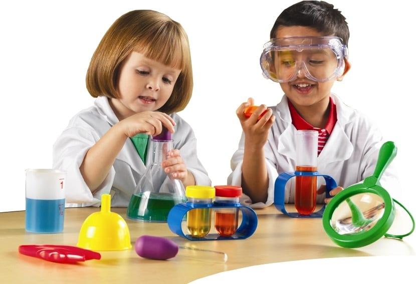 caseros para ninos experimentos