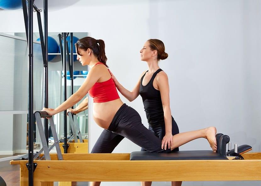 Pilates dirigido para embarazadas