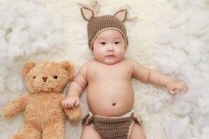Desarrollo del bebé de cuatro meses