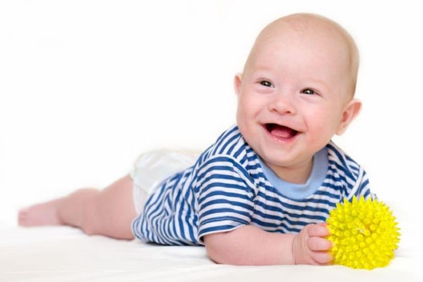 Desarrollo del bebé de 4 meses