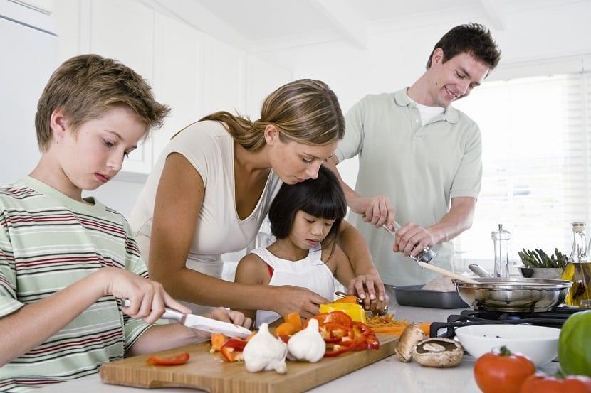 Recetas de cenas ligeras para niños