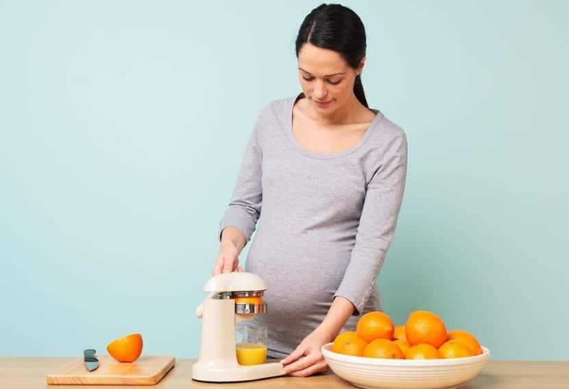La alimentación durante el embarazo