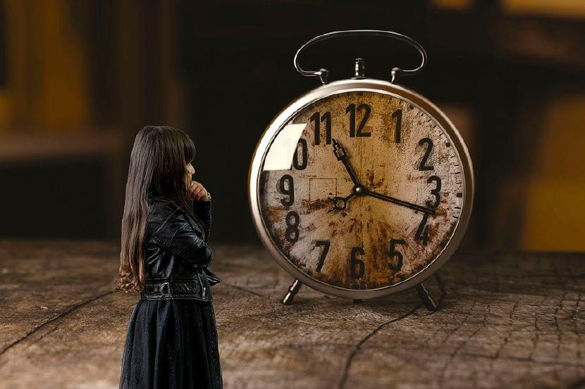 enseñar hora niños