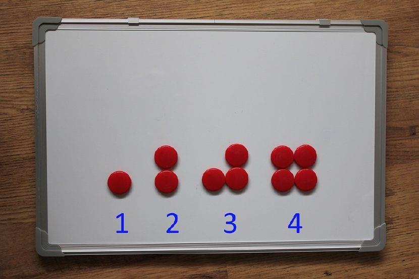 enseñar números niños