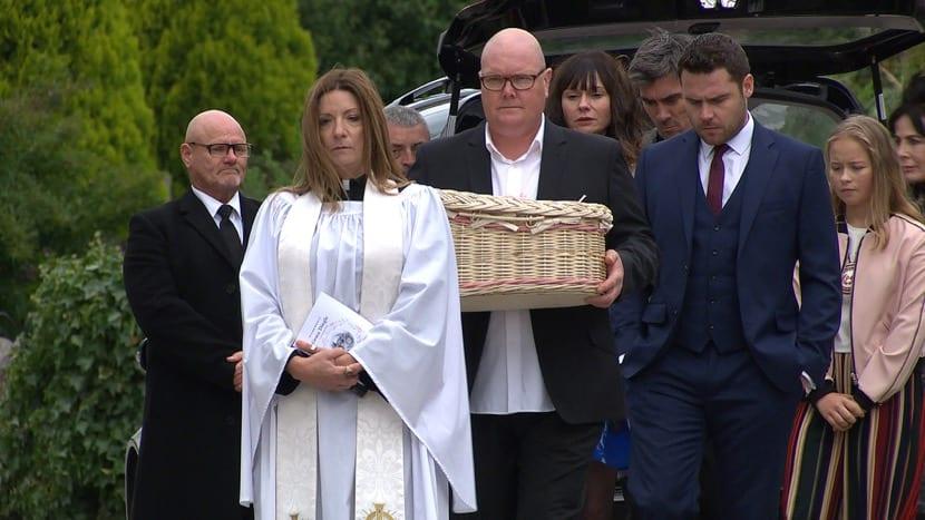 funeral de un pequeño