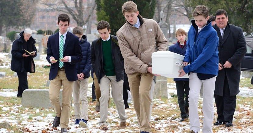 funeral de bebe