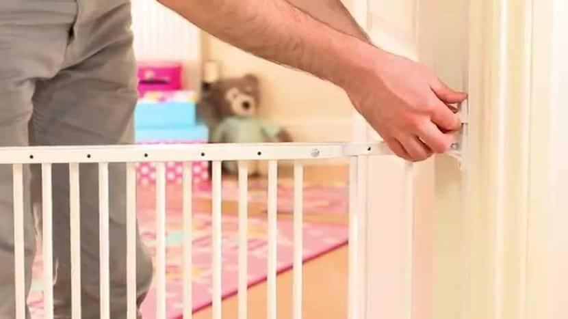 valla infantil en casa