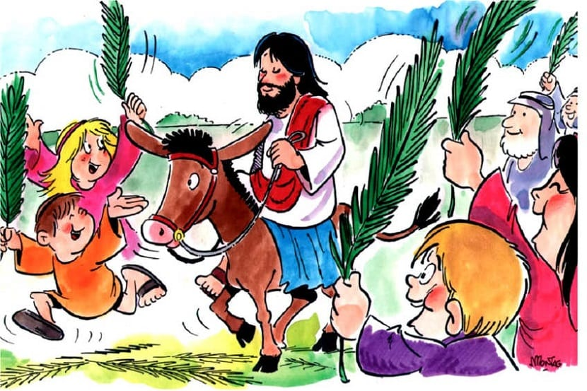 Semana Santa para niños