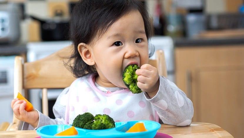 La alimentación del bebé de 12 meses
