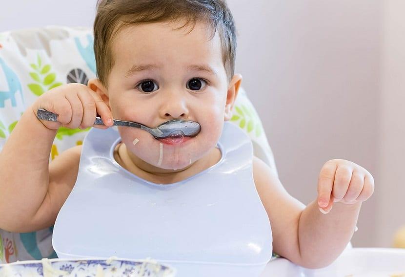 La alimentación del bebé de 11 meses