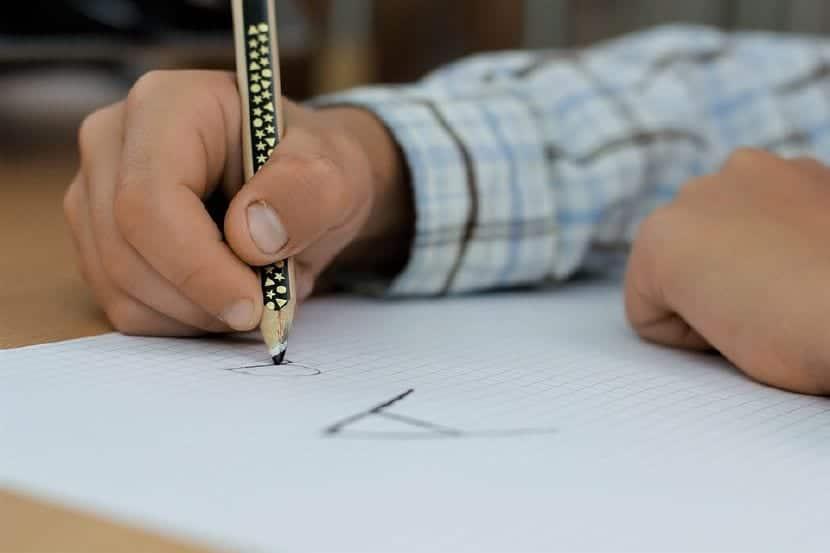 mejorar caligrafía niños