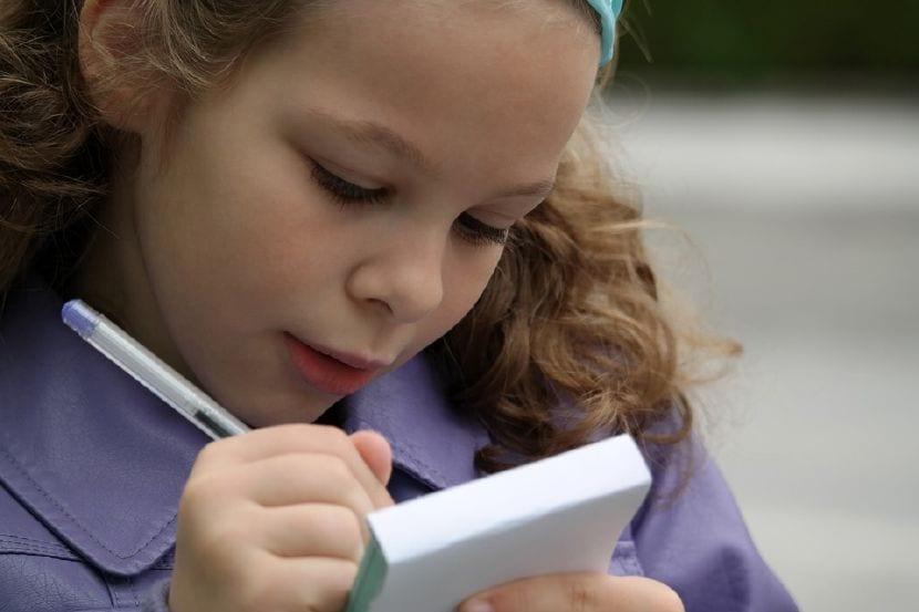 mejorar escritura niños