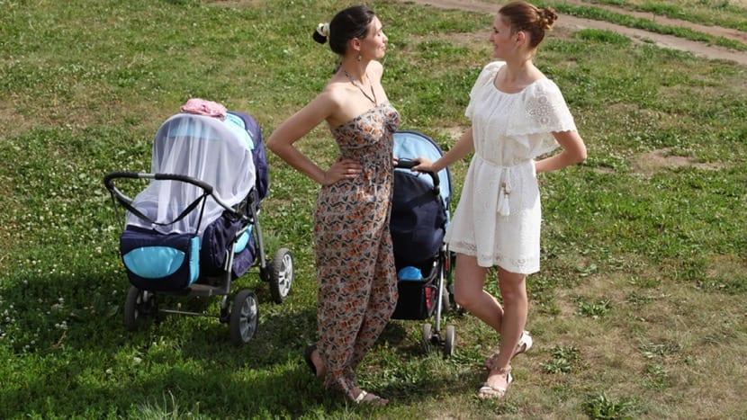 sabana en el carrito del bebe