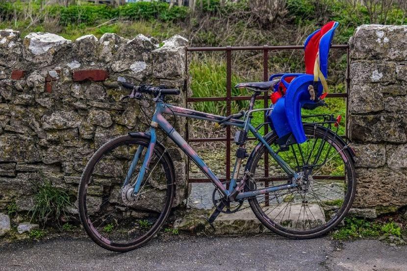 sillita bicicleta bebé