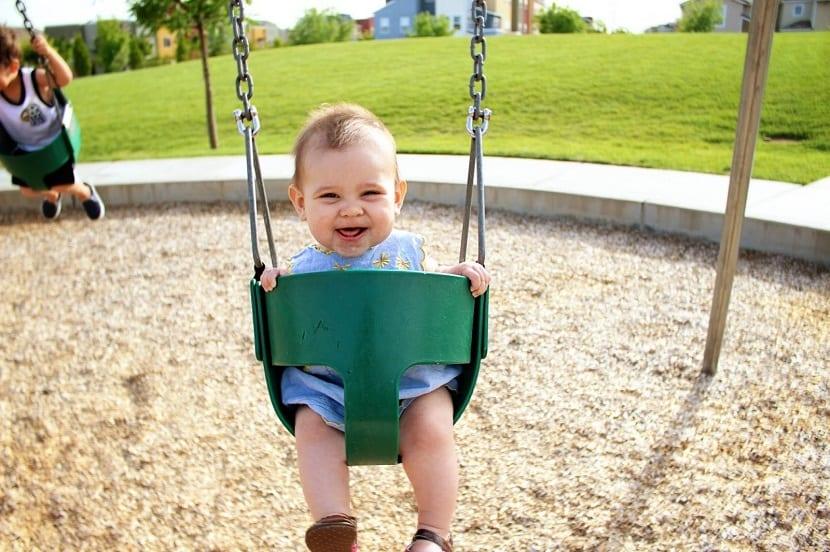 Llevar al parque a tu bebé