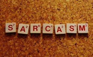 El uso del sarcasmo en los niños