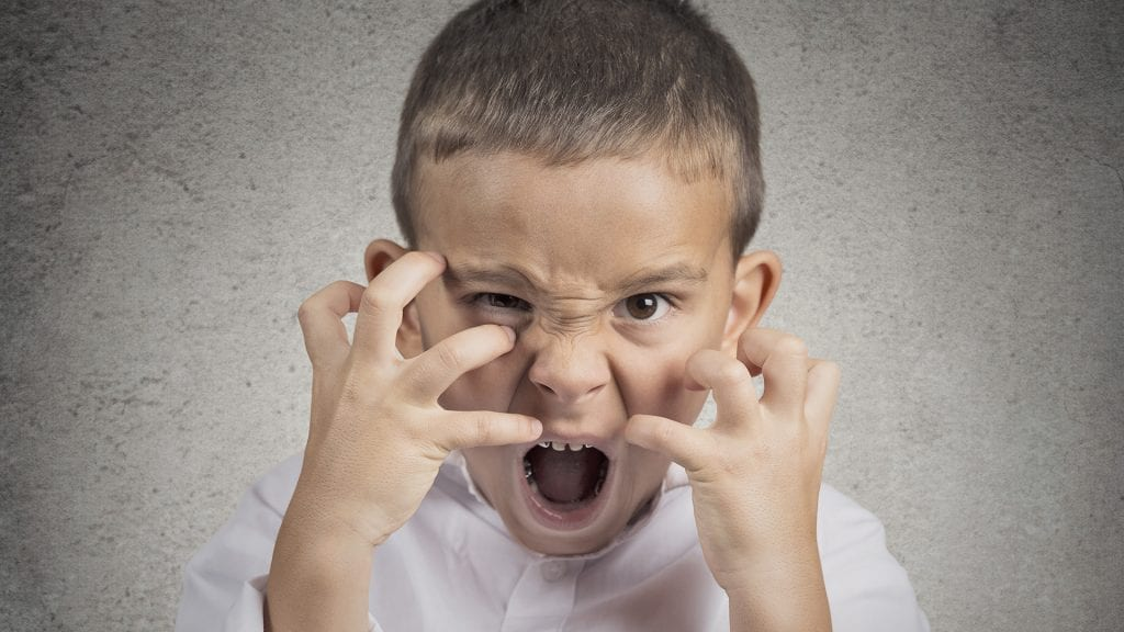 Los niños con Síndrome de Tourette presentan tics motores y fónicos.