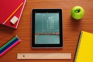 tablet en clase