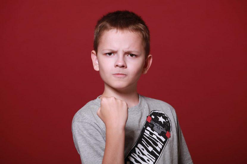 la ira en los niños