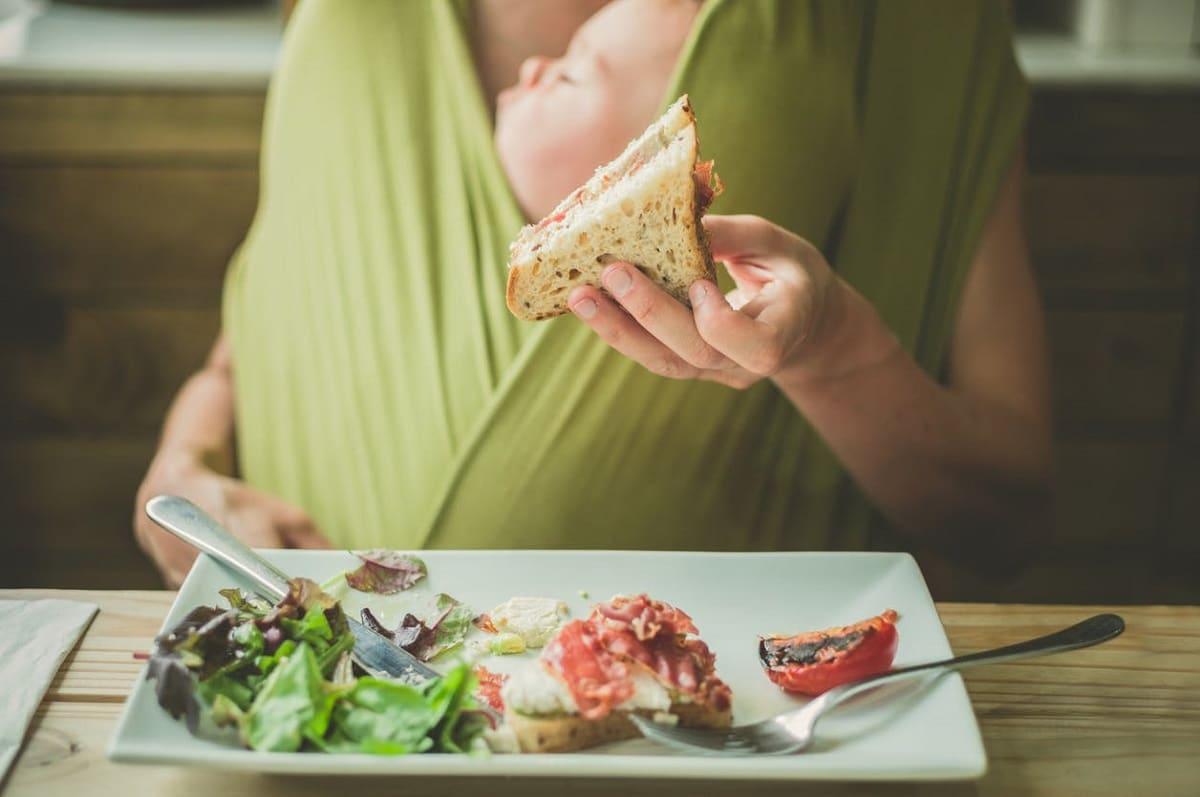 Consejos de alimentación postparto