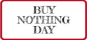 Día Internacional de no comprar nada