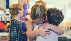 empatia entre dos niños