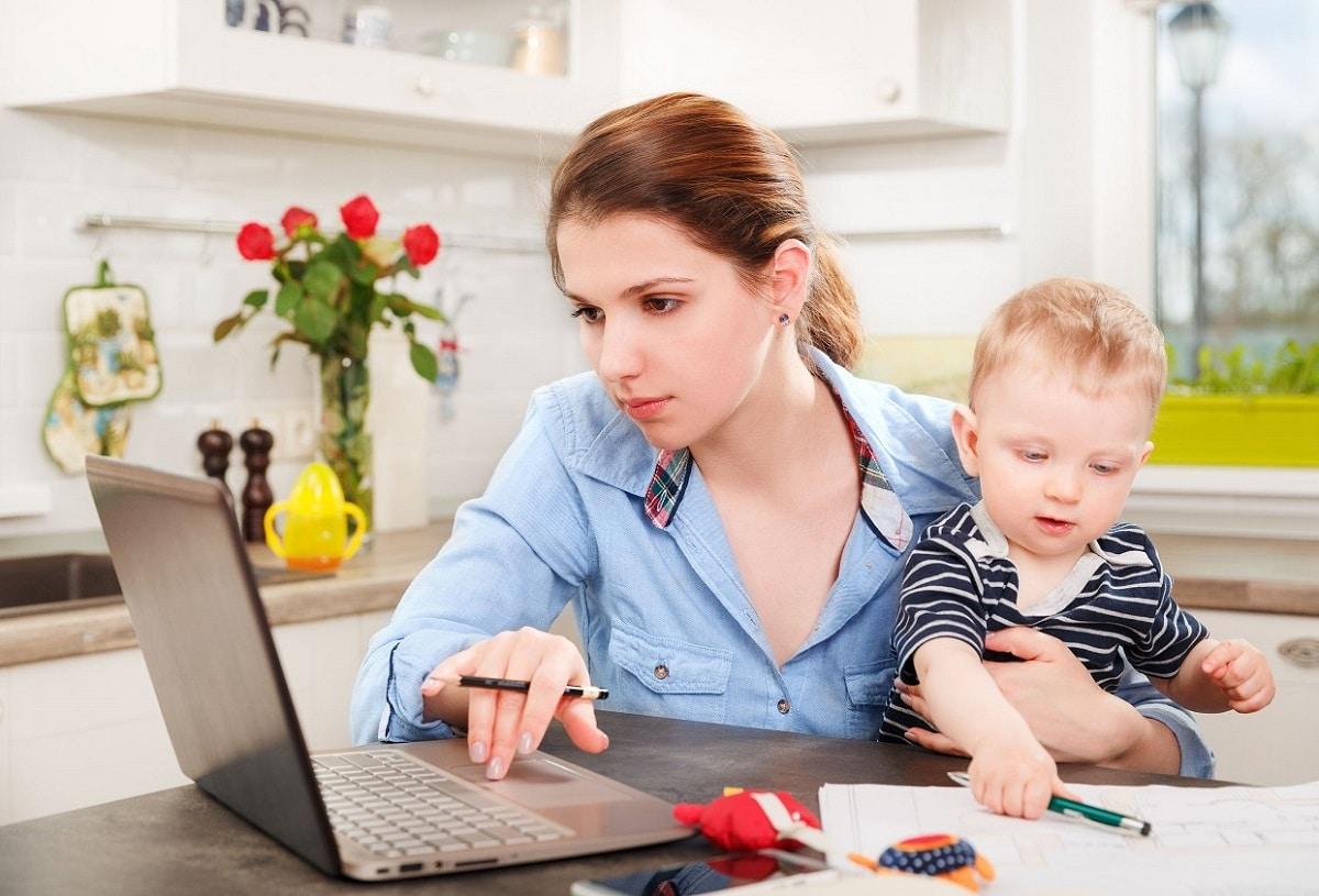 Ser madre y trabajar desde casa