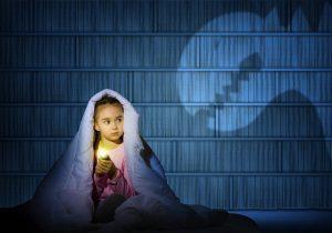 Miedo a la oscuridad en niños