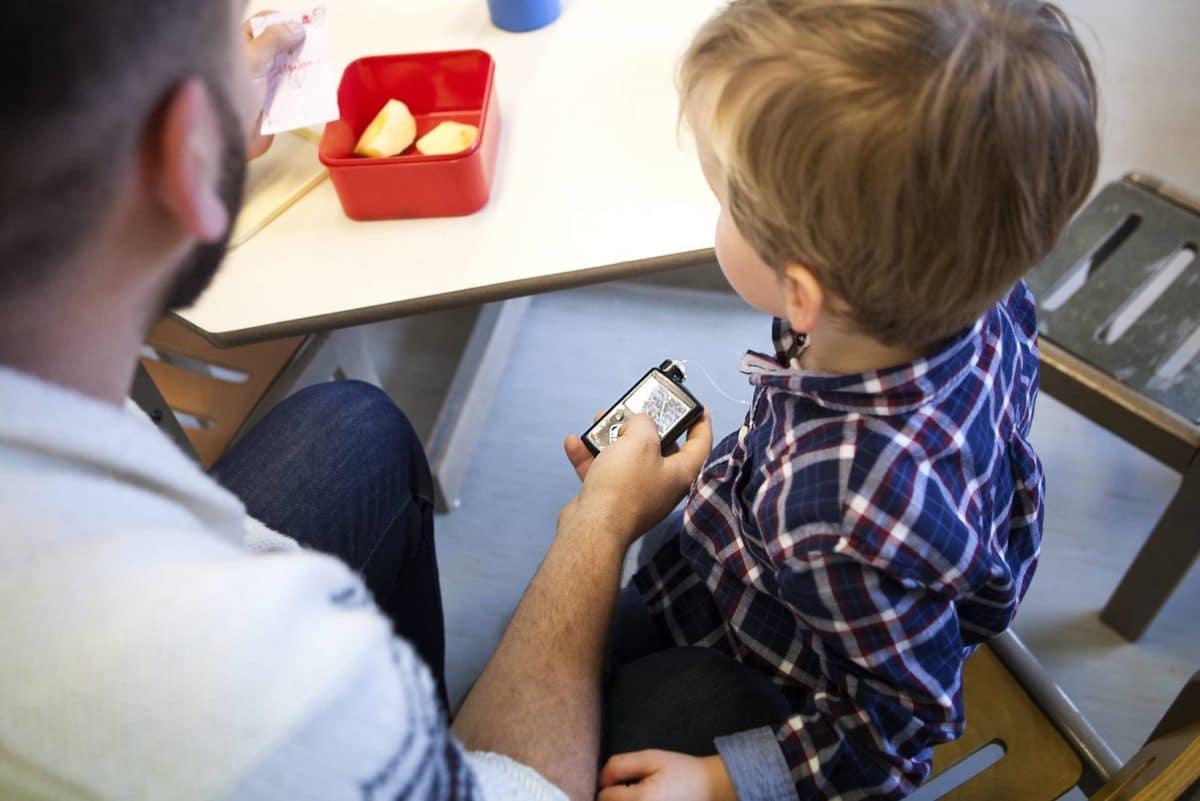 Niños con diabetes en la escuela