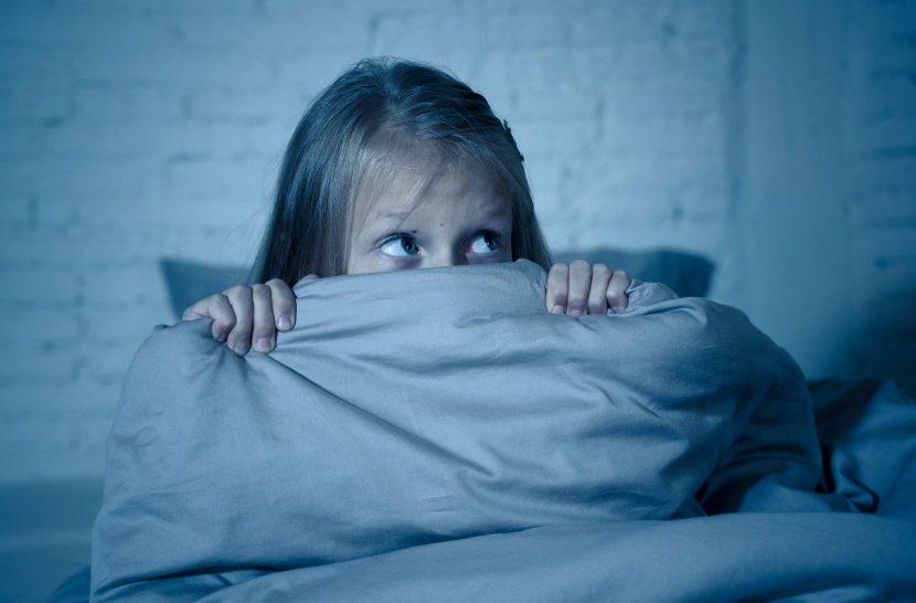 Niños con miedo a la oscuridad
