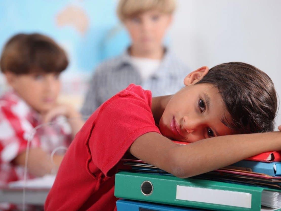 aburrimiento en la escuela
