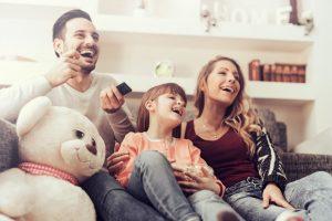 familia con hija unica