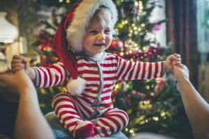 Cómo vestir a los niños para la cena de Nochebuena