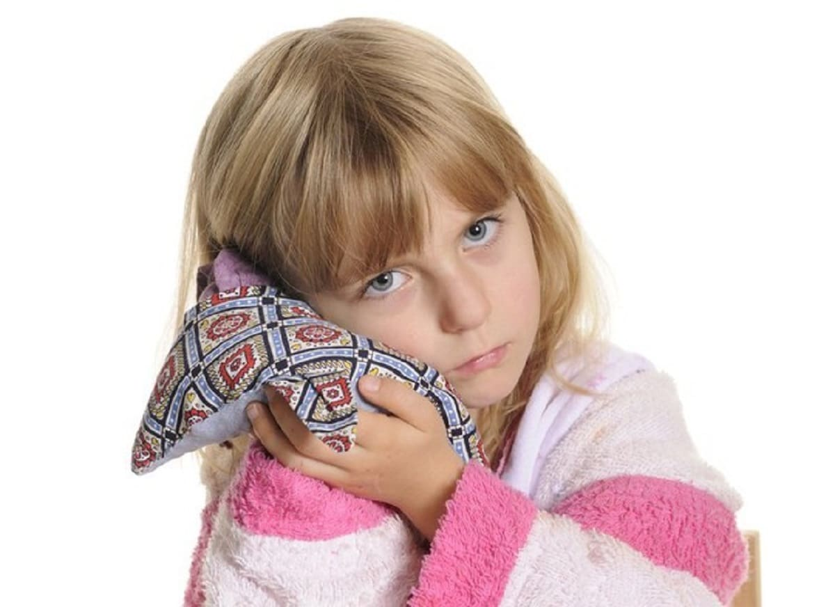 Aliviar el dolor de oídos en niños