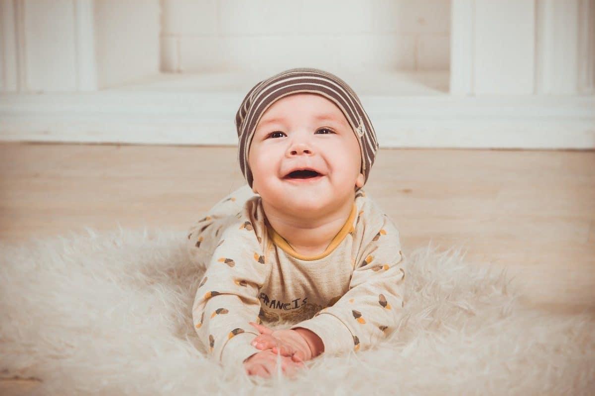 Desarrollo en los bebés de 5 meses