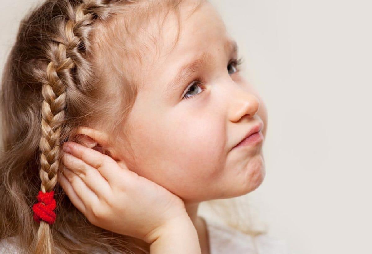 dolor de oídos en niños