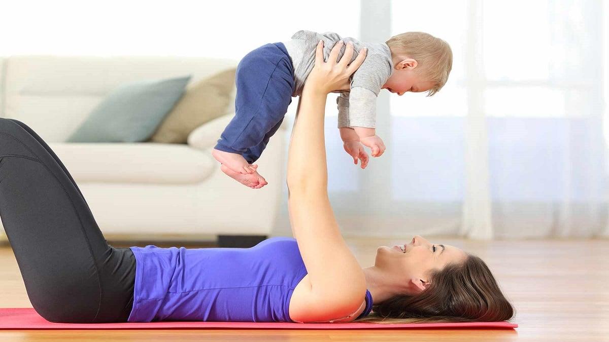 Ponerse en forma después del embarazo