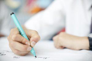 Escribir dictados