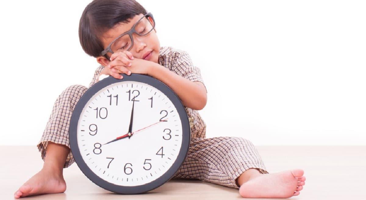 La rutina de los niños