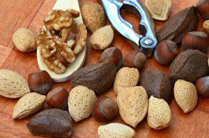 Frutos secos como fuente de grasas saludables