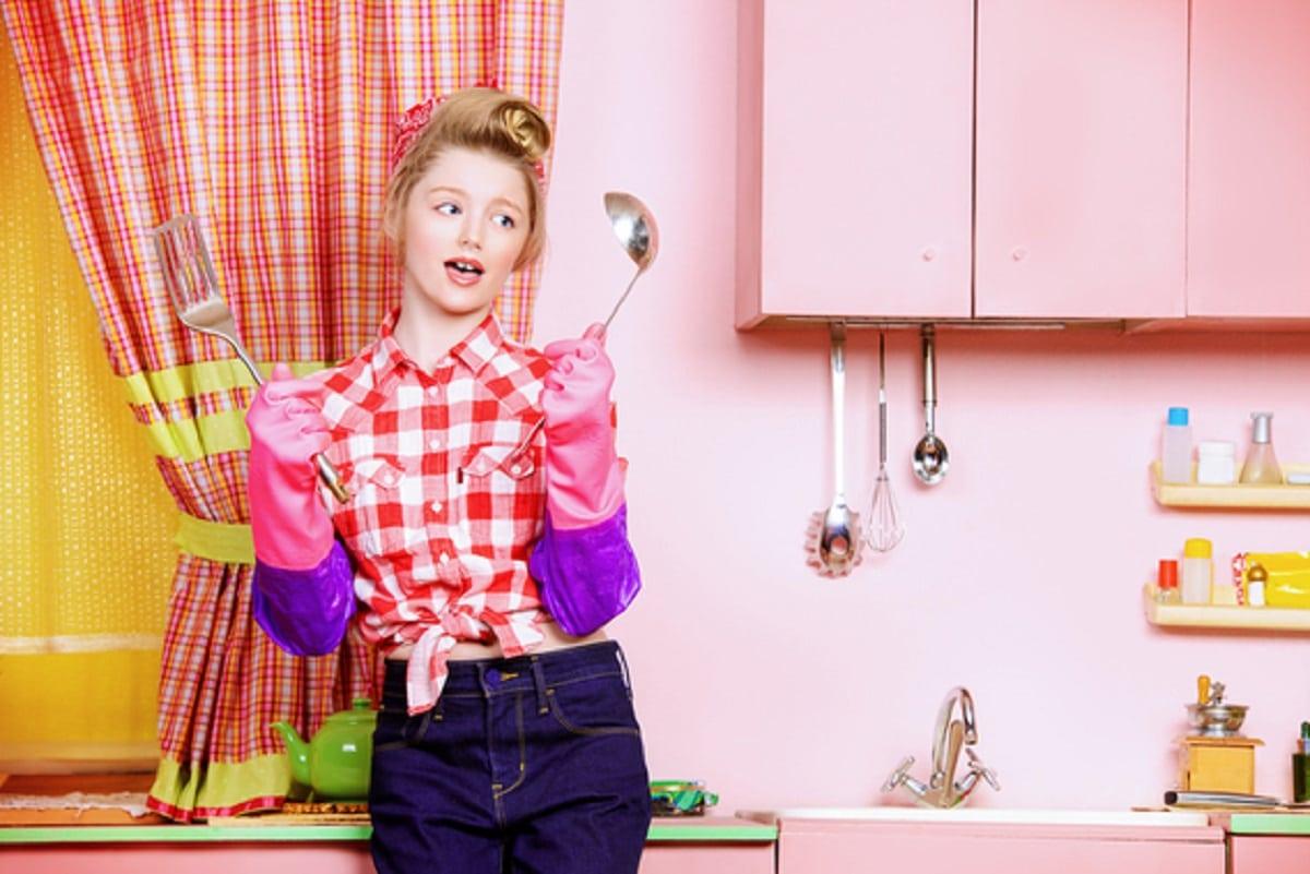 Enseñar a cocinar a los hijos