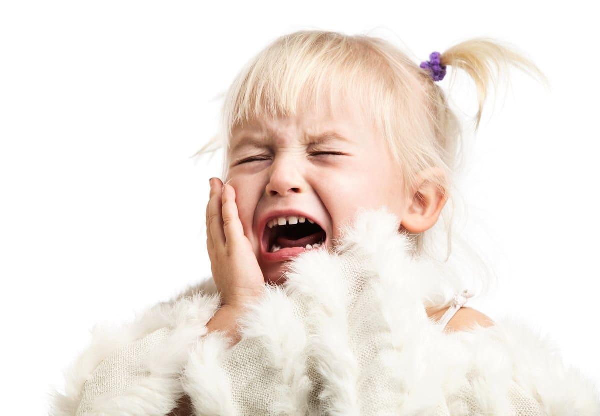 nena triste porque le gritan