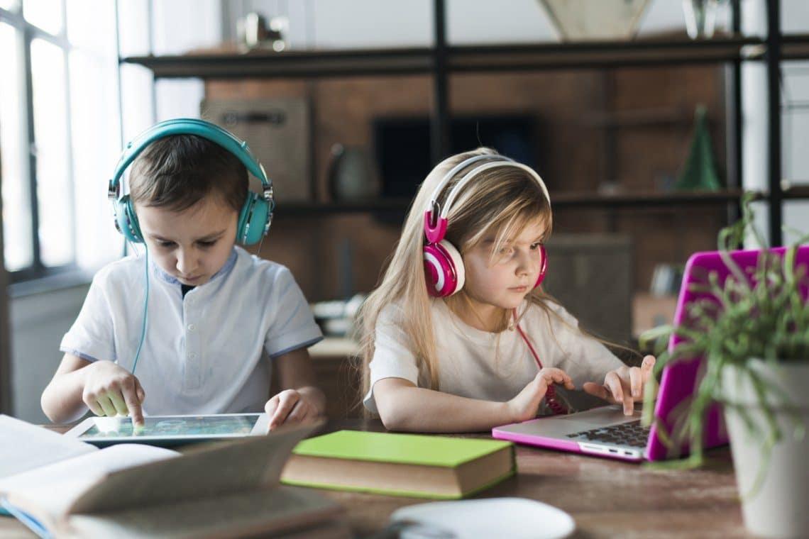 niños y educación a distancia